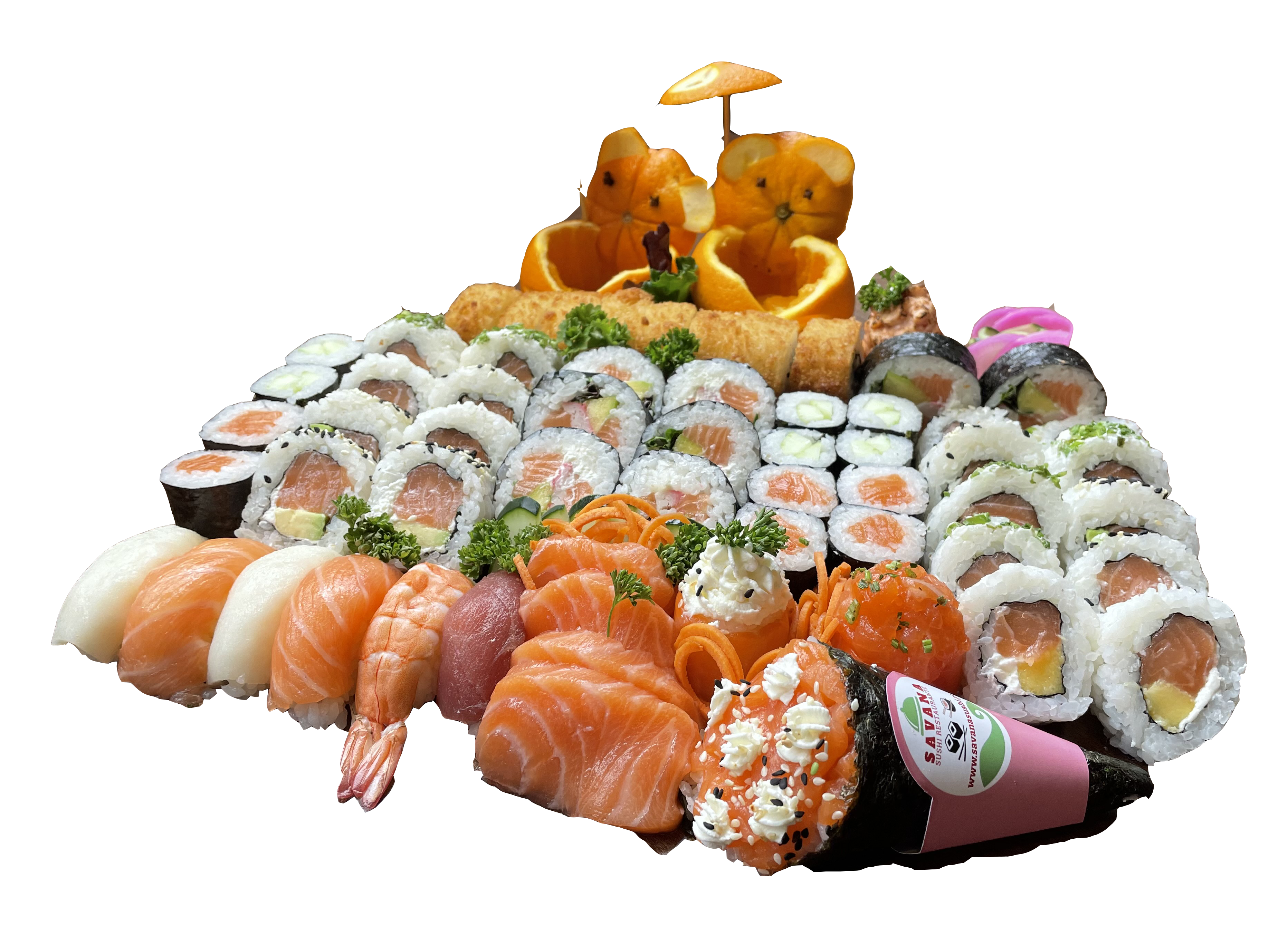 Combi Mix Sushi( Party-Pak )  OFERTA VINHO